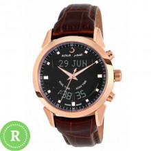 Наручные мусульманские щвейцарские часы alfajr / альфаджр WA-10B Black