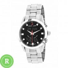 Наручные мусульманские щвейцарские часы alfajr / альфаджр WA-10S black
