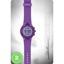 Наручные молодежные мусульманские часы alfajr / альфаджр WY-16 фиолетовые