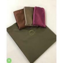 Дорожный коврик с мешочком с вышивкой