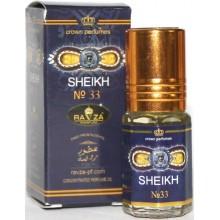 Масляные духи Ravza Sheikh 33 / Равза Шейх 33 3 мл